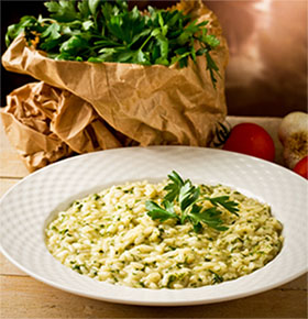 risotto chards