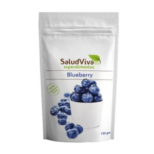 Mirtilo blueberry en polvo gran acción antioxidante